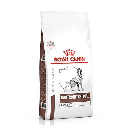 Корм для собак ROYAL CANIN Gastro Intestinal Low Fat LF22 при нарушении пищеварения с ограниченным содержанием жиров 12кг