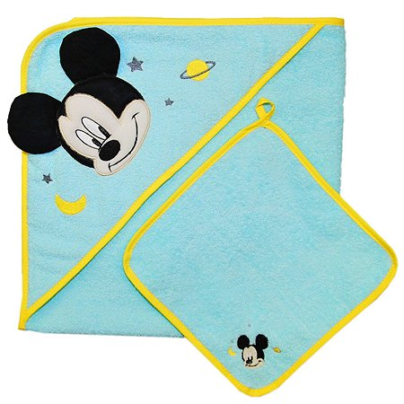 Комплект для купания Polini kids Disney baby Микки Маус 2предмета Бирюзовый