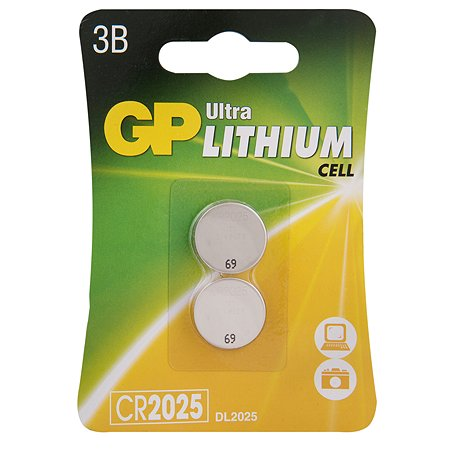Батарейки GP 2шт CR2025E-7CR2