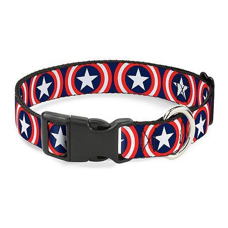 Ошейник для собак Buckle-Down Капитан Америка CPC-WCA012-L