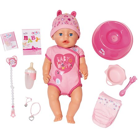 Кукла Zapf Creation Baby Born интерактивная 825-938