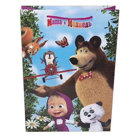Пакет подарочный Росмэн Маша и Медведь 25*9*35