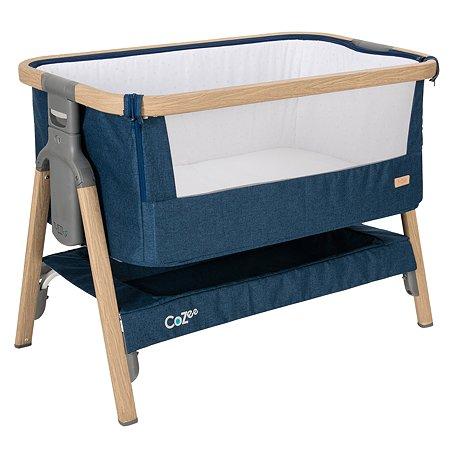 Колыбель Tutti bambini CoZee Oak and Midnight Blue 211205/3594