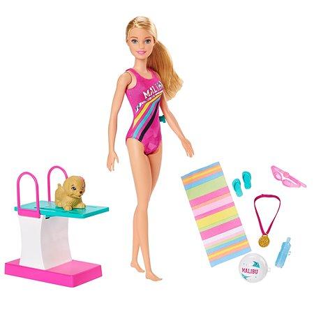 Набор игровой Barbie Чемпион по плаванию GHK23