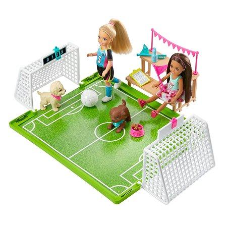 Набор игровой Barbie Челси-футболист GHK37