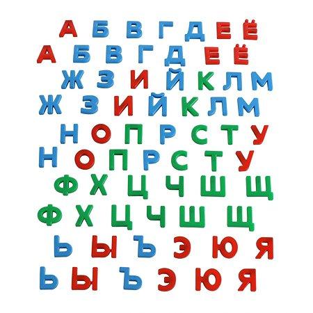 Набор Полесье Первые уроки 66 букв магнитных 67616