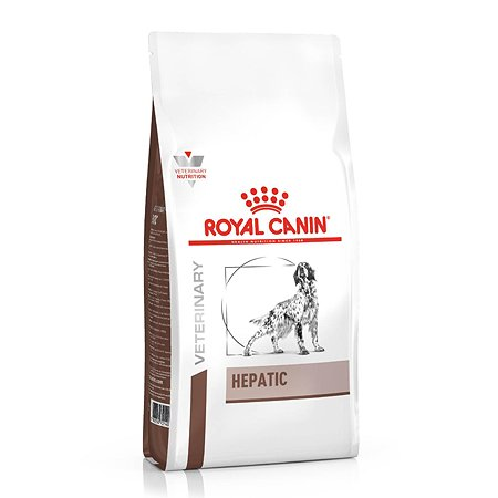 Корм для собак ROYAL CANIN Hepatic HF16 при заболеваниях печени 1.5кг