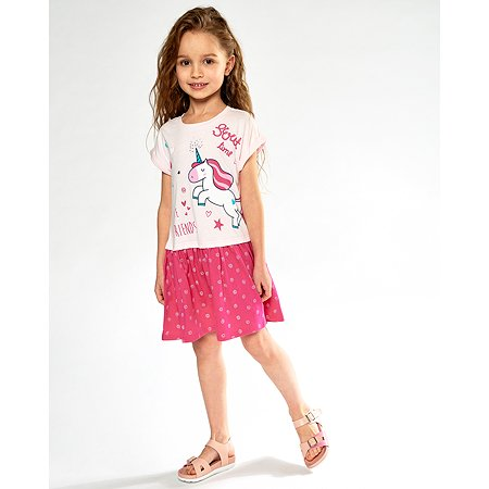 Платье Futurino розовое
