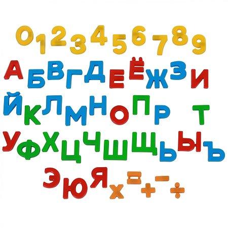 Набор Полесье Первые уроки 48 элементов магнитных 70289