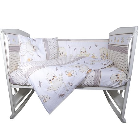 Комплект постельного белья Эдельвейс Цыплята 6предметов 10604