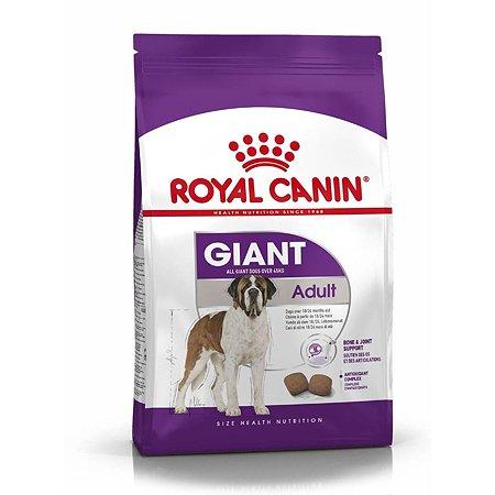 Корм для собак ROYAL CANIN гигантских пород более 45кг 15кг