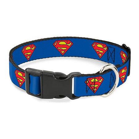 Ошейник для собак Buckle-Down Супермен CPC-WSM001-S