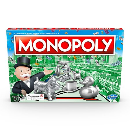 Настольная игра Monopoly Классическая Монополия Обновленная