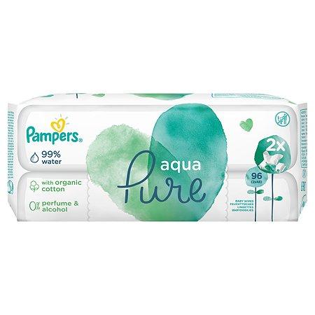 Салфетки влажные Pampers Aqua Pure Duo 96шт