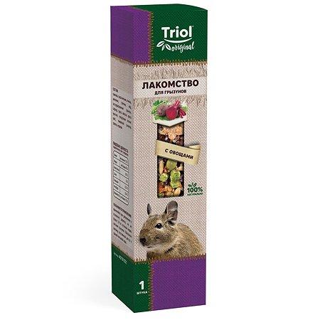 Лакомство для грызунов Triol Original с овощами 110г