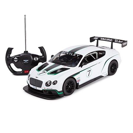 Машинка радиоуправляемая Rastar BentleyContinental GT31:14 белая