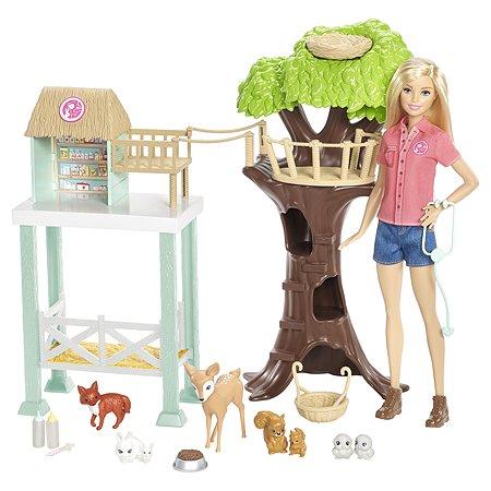 Игровой набор Barbie Спасатель животных