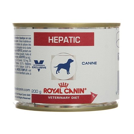 Корм для собак ROYAL CANIN Hepatic Canine при заболевании печени 0.2кг