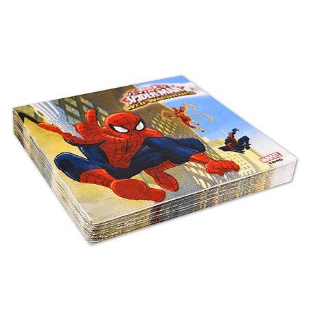Салфетка Decorata Party Spiderman 20шт 1502-4679