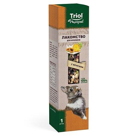Лакомство для кроликов Triol Original с фруктами 110г
