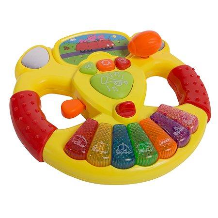 Игрушка Свинка Пеппа Pig Музыкальный руль