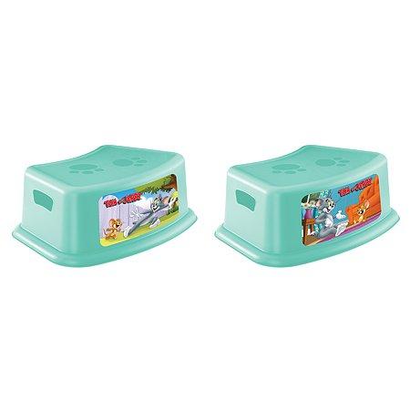 Подставка Пластишка Tom and Jerry детская с аппликацией Бирюзовая в ассортименте