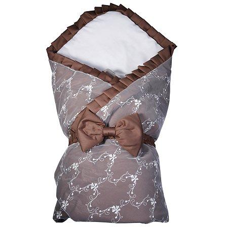 Конверт-одеяло Babyton Felicita Cioccolata на выписку 11220
