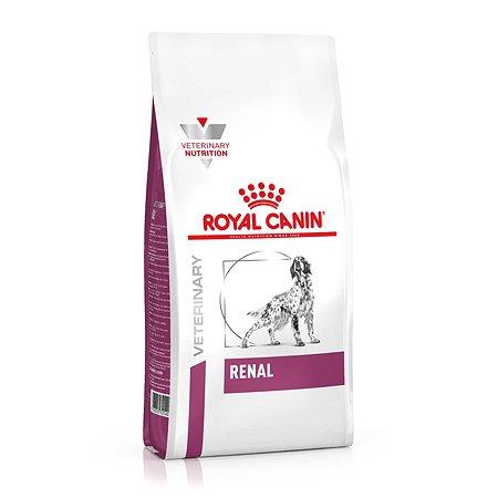 Корм для собак ROYAL CANIN Renal при почечной недостаточности 2кг