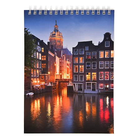 Блокнот Silwerhof Амстердам А5 60л 1110111