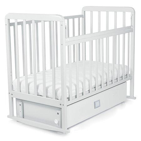 Кровать Babyton маятник+ящик Белый 228001