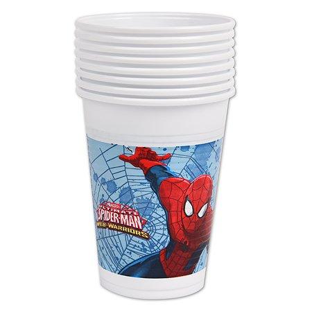 Стакан Decorata Party Spiderman 8шт 1502-4681
