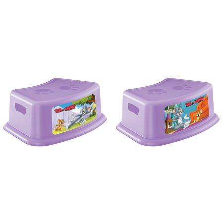 Подставка Пластишка Tom and Jerry детская с аппликацией Сиреневаяв в ассортименте