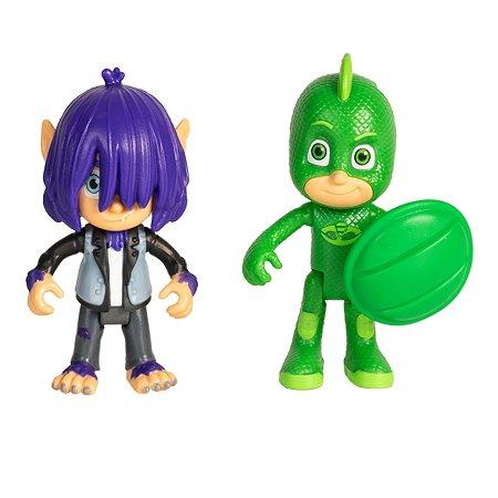 Набор игровой PJ masks 2 фигурки Гекко и Кевин 35560