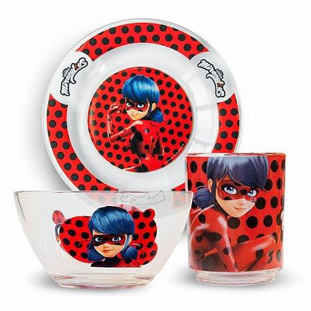 Набор посуды ND PLAY Леди Баг Дизайн2 3предмета 272011