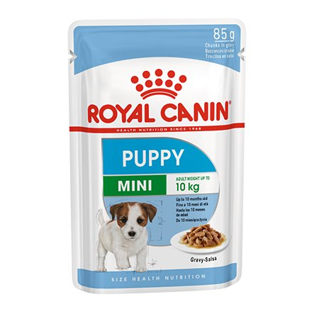 Корм для щенков ROYAL CANIN малых пород соус пауч 85г