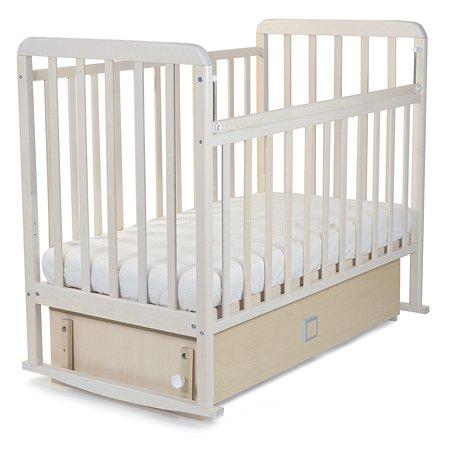 Кровать Babyton маятник+ящик Береза 228005