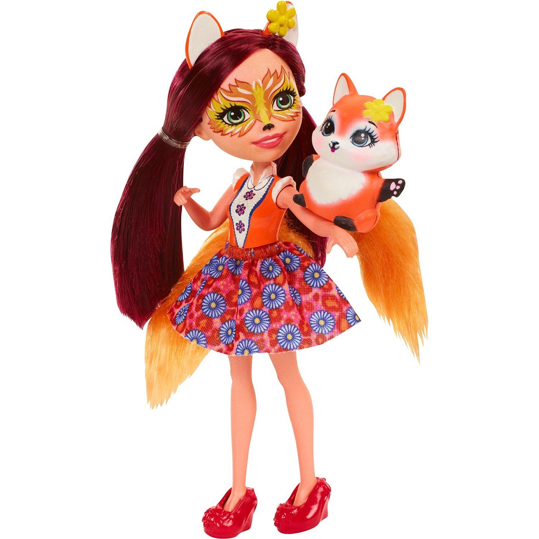 a2984af4f51 Кукла Enchantimals с любимой зверюшкой DVH89 - купить в интернет магазине  Детский Мир в Москве и России