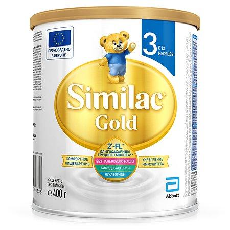 Молочко Similac Gold 3 400г с 12 месяцев