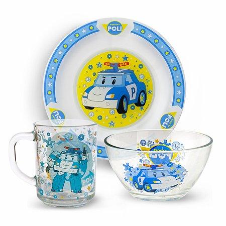 Набор посуды ND PLAY Робокар Поли 3предмета 272024