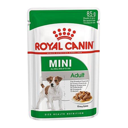 Корм для собак ROYAL CANIN малых пород соус пауч 85г