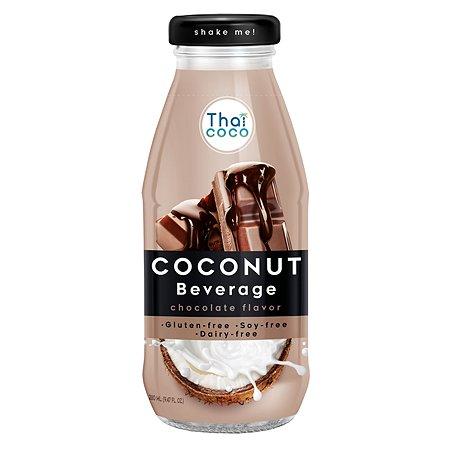 Напиток Thai Coco кокосовый со вкусом шоколада 280мл