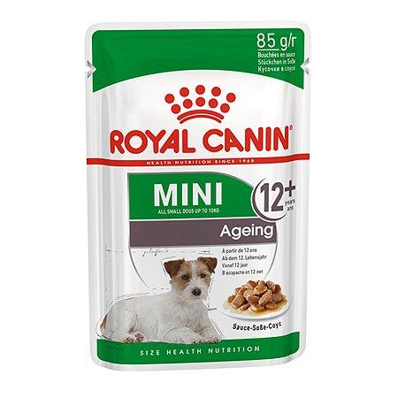 Корм для собак ROYAL CANIN пожилых малых пород соус пауч 85г