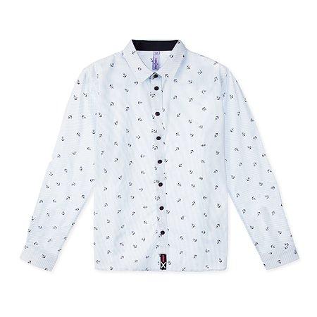Рубашка PlayToday голубая