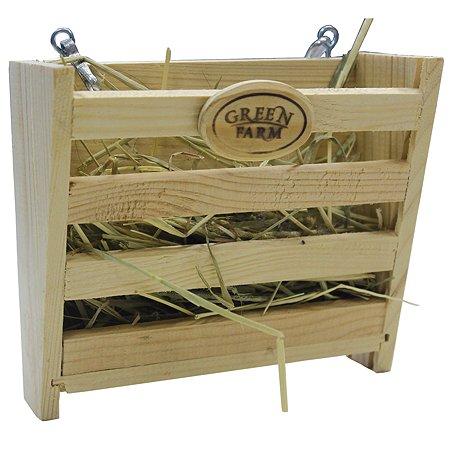 Кормушка для грызунов Green Farm средних для сена 161.041