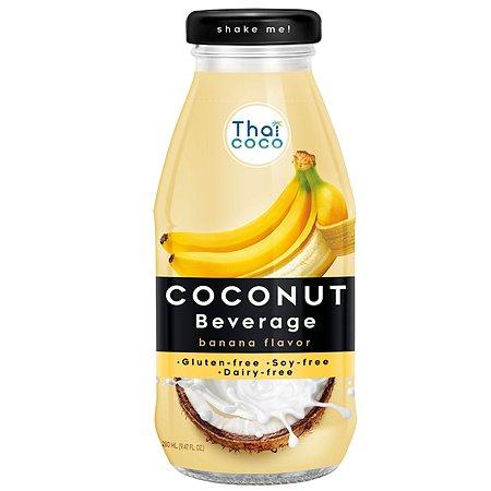 Напиток Thai Coco кокосовый со вкусом банана 280мл