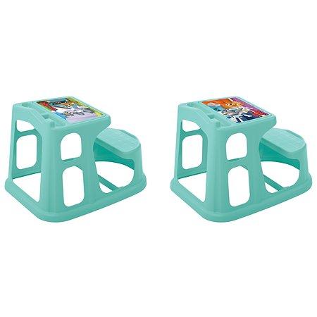 Стол-парта Пластишка Tom and Jerry детская с аппликацией Бирюзовая в ассортименте
