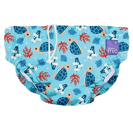 Трусики для плавания Bambino Mio Черепаший залив XL с 2лет