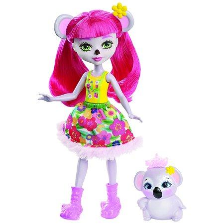 Кукла Enchantimals с любимой зверюшкой FCG64