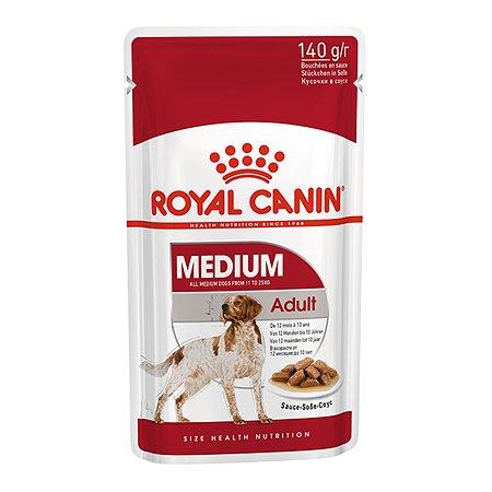 Корм для собак ROYAL CANIN средних пород соус пауч 140г