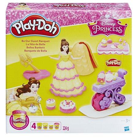 Игровой набор Play-Doh Банкет Белль
